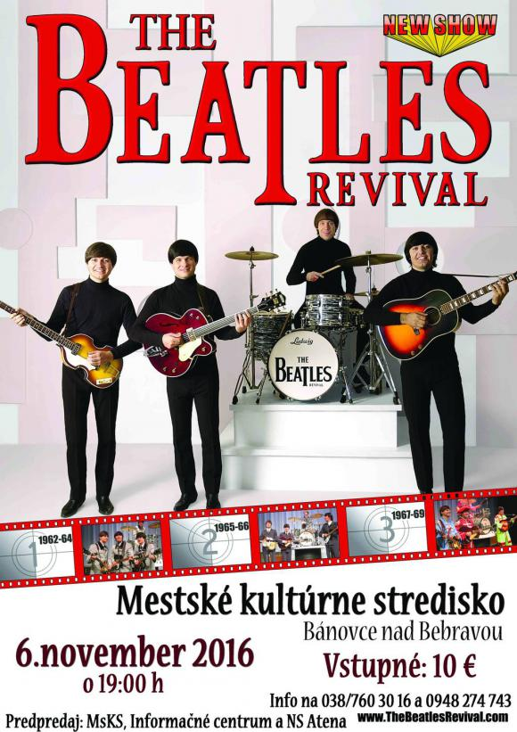 The Beatles Revival Band – 6.11.2016