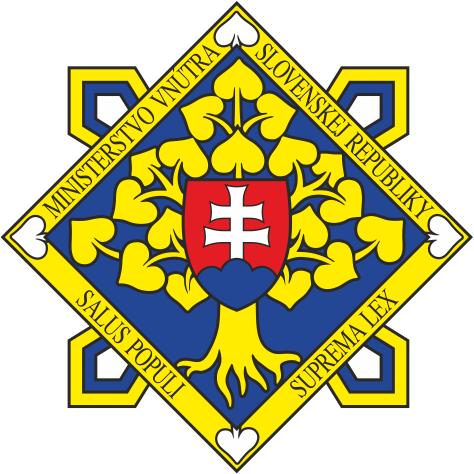 Výsledok vyhľadávania obrázkov pre dopyt logo ministerstva vnútra