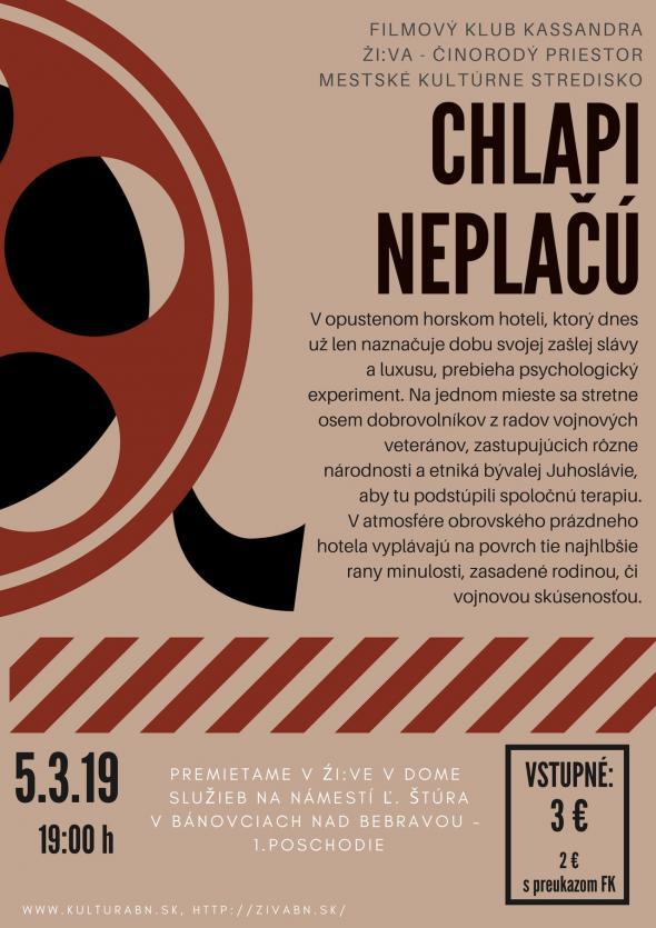 257df4584 FK Kassandra: Chlapi neplačú - 5. 3. 2019